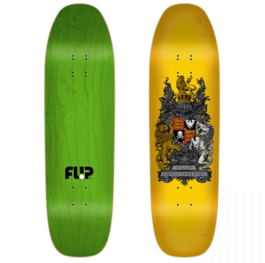 СКЕЙТБОРД ДЪСКА FLIP MOUNTAIN CREST YELLOW 9''