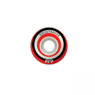 СКЕЙТБОРД КОЛЕЛА FLIP CUTBACK RED 52mm