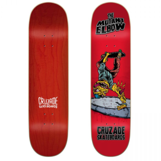 СКЕЙТБОРД ДЪСКА CRUZADE THE MUTANT ELBOW 8.25''