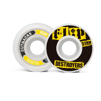 СКЕЙТБОРД КОЛЕЛА FLIP CUTBACK DESTROYERS 51mm