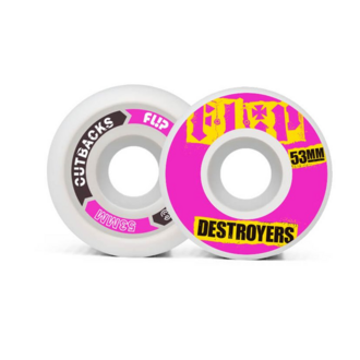 СКЕЙТБОРД КОЛЕЛА FLIP CUTBACK DESTROYERS 53mm
