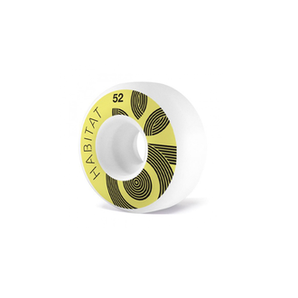 СКЕЙТБОРД КОЛЕЛА HABITAT WREATH LOGO 52mm