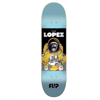 СКЕЙТБОРД ДЪСКА FLIP LOPEZ SPACE MONKEY 8.25""