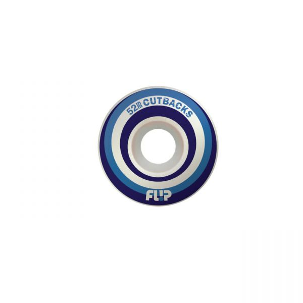 СКЕЙТБОРД КОЛЕЛА FLIP CUTBACK BLUE 54mm