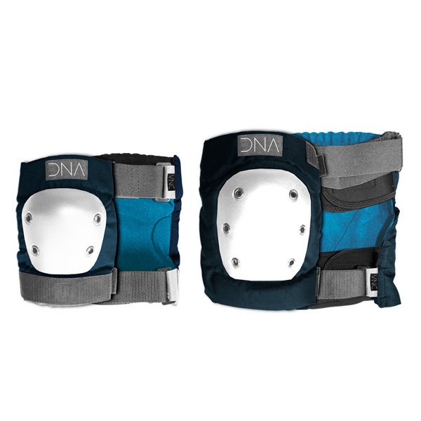 КОМПЛЕКТ ПРОТЕКТОРИ DNA NAVY KNEE & ELBOW PACK